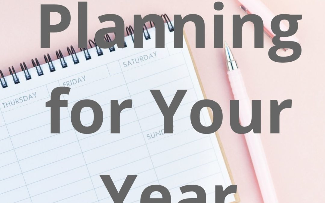 How to Plan efficiently your Year